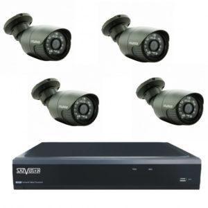 комплект видеонаблюдения 2px