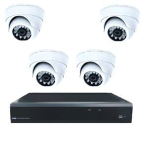 Комплект из 4 видеокамер на 4МП